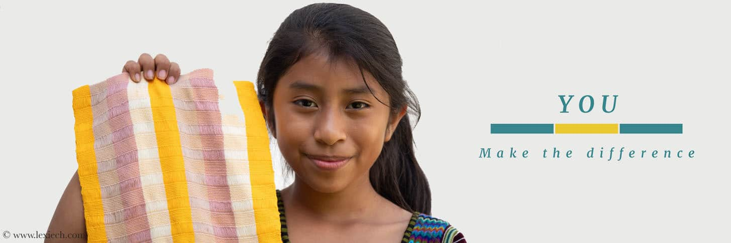 You Make The Difference year end donation campaign